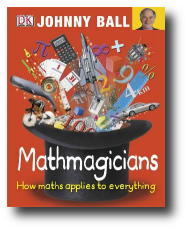 Graphic: Cover image: DK Mathmagicians by Johnny Ball